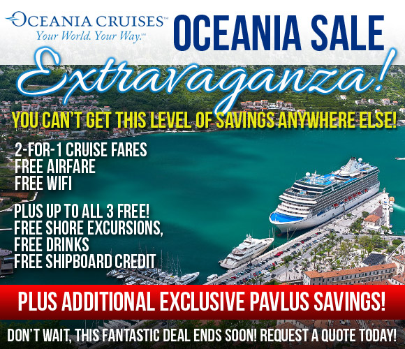 Pavlus Travel - Oceania Cruises